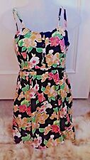 Pins & Needles @ Urban Outfitters Floral Multi Colour Dress Size XS 8