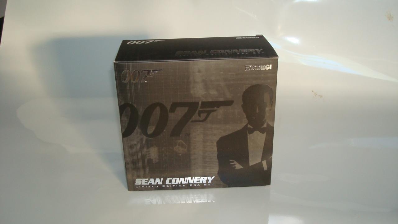 CORGI Sean CONNERY 007 James Bond Limited Edition Box Set Comme neuf à nouveau