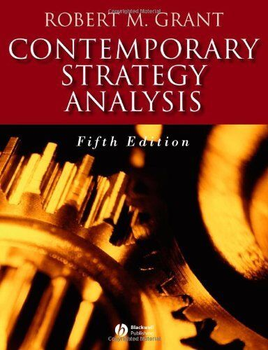 Contemporary Strategy Analysis,Robert M. Grant