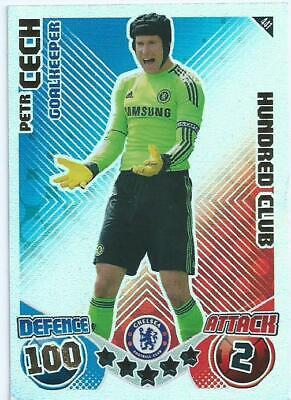 Match Attax 2008//09 Petr Cech 100 cents Club