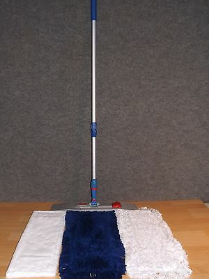 Klapphalter 40cm Wischmop Teleskopstiel Set Mophalter Microfasermop Bodenwisher