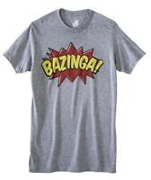Big Bank Theory Bazinga Men's Graphic Tee T-shirt S & Xl