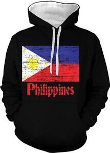 Philippines Flag Pilipinas Bandila Filipino Pride 2 Tone Hoodie