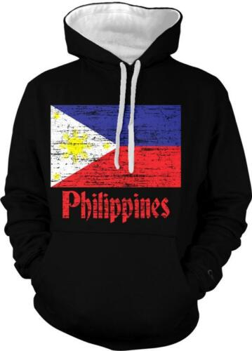 Philippines Flag Pilipinas Bandila Filipino Pride 2-tone Hoodie Pullover