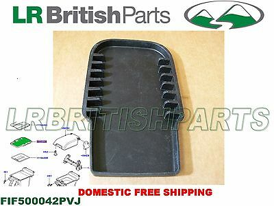 LAND ROVER CONSOLE MAT CENTER CONSOLE LR3 LR4 RANGE R SPORT OEM NEW FIF500042PV