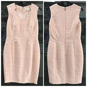 Damsel-in-a-Dress-Dusty-Pink-Crepe-Shift-Dress-Size-UK-14-EU-42-US-10-AUS-14