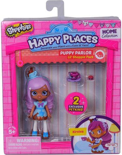 Shopkins Happy Places Puppy Parlor Lil/' Shoppie Doll Kirstea