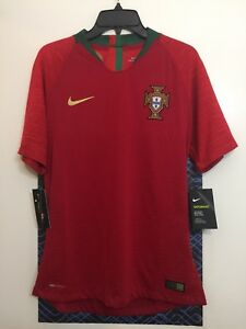 reputable site ed71f 8ceb5 Details about NIKE VAPORKNIT SOCCER JERSEY [893879 687] RONALDO CR7  PORTUGAL WORLD CUP MATCH M