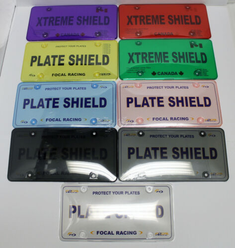 License Plate covers Purple color 2 pcs fit Canada USA License plate frames 868