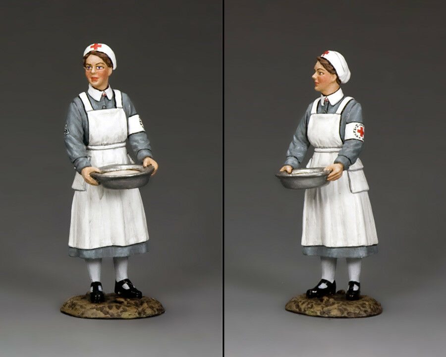 KING AND COUNTRY WW2 German Nurse with Basin WH006
