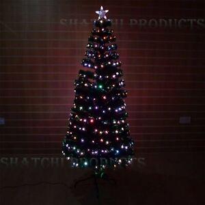 Pre Lit Fibre Optic Led Christmas Tree