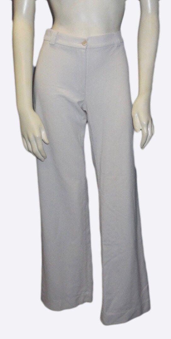 PIAZZA SEMPIONE Tan Beige Straight Leg Lightweight Stretch Casual Pant HS2801