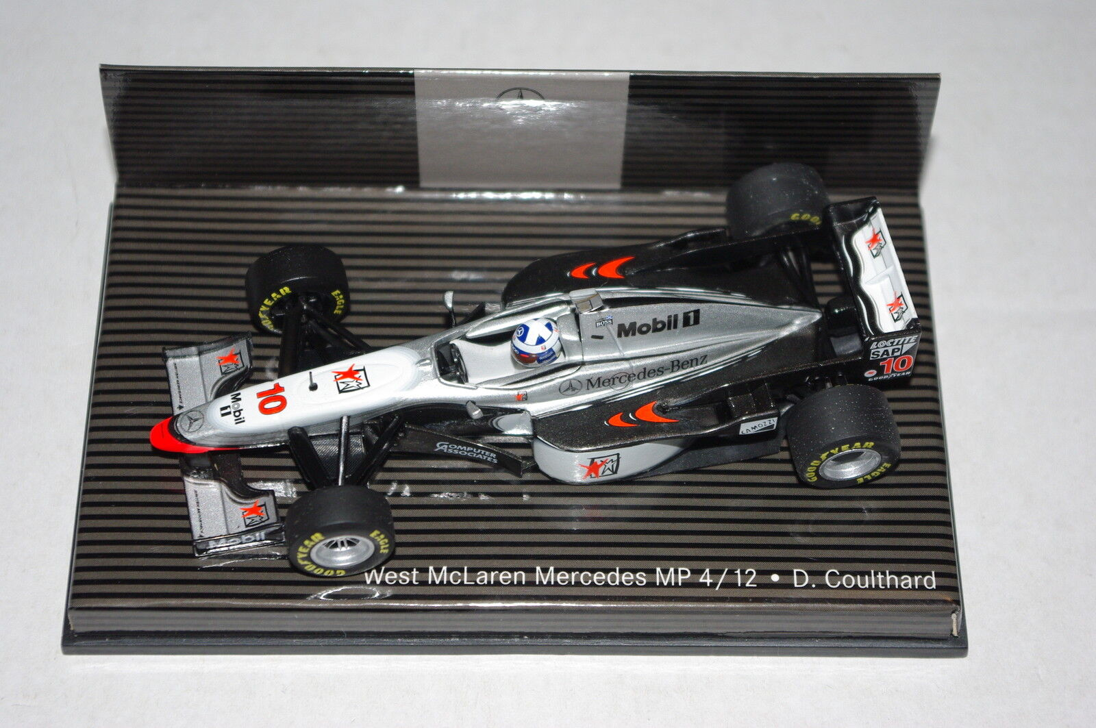 Minichamps F1 1 43 McLAREN MERCEDES MP4 12 DAVID COULTHARD - DEALER EDITION