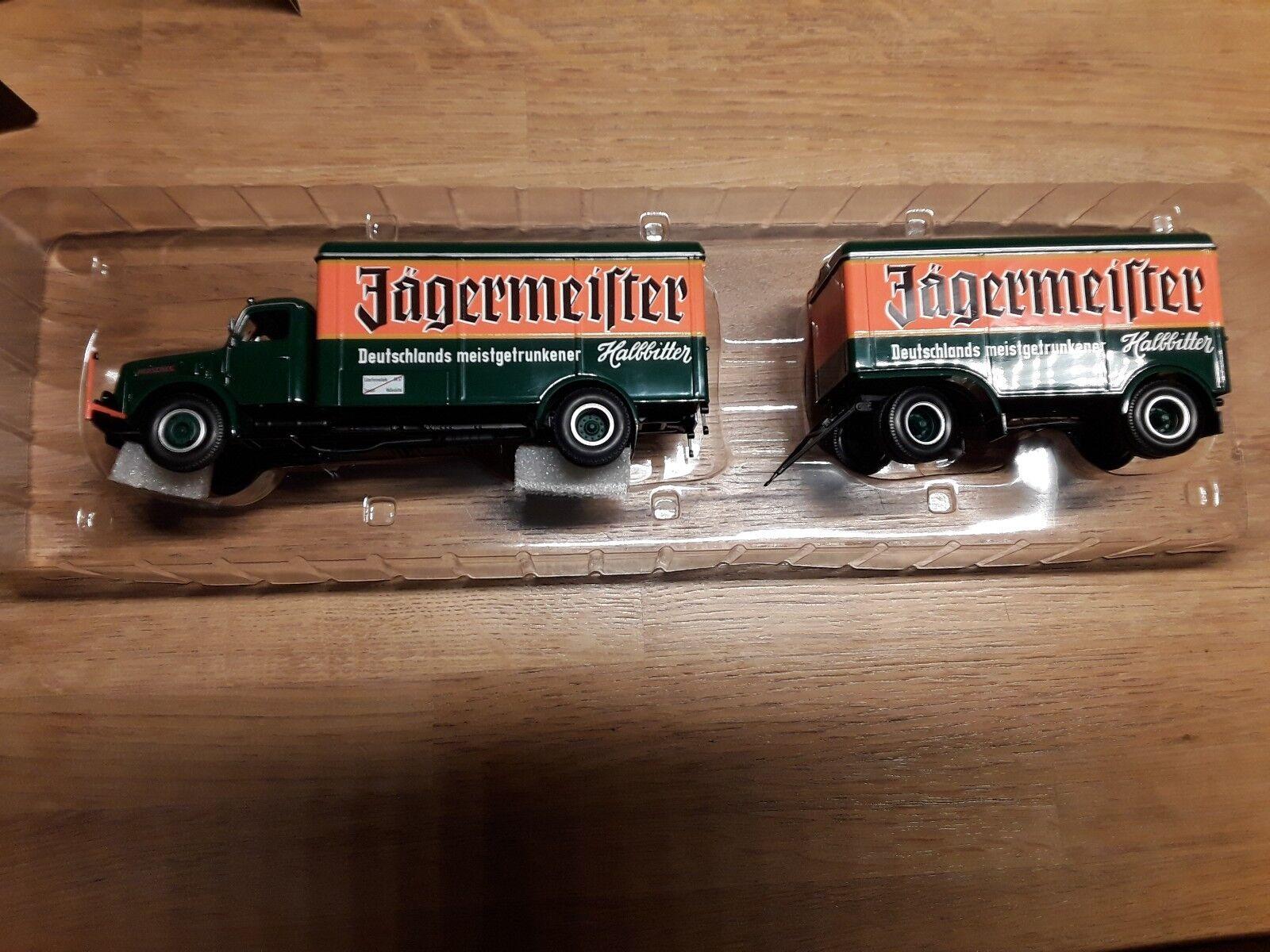 Henschel HS 140  Kofferzug  Jagermeister  1  43 Minichamps  no.1 en ligne