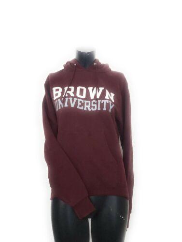 Brown University Champion Hoodie Sweatshirt Red XS