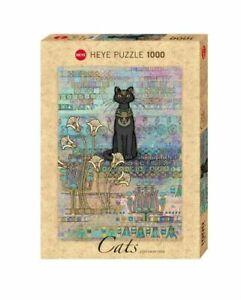 Heye Puzzle - 1000 Teile Katzen Ägyptische HY29536
