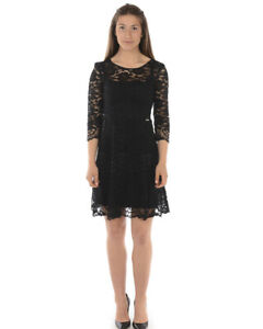Vestito-Liu-Jo-Dress-Donna-Nero-W18338J1766-22222