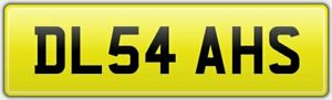 DELILAH-039-S-RARE-CAR-REG-NUMBER-PLATE-DL54-AHS-ALL-FEES-PAID-DELILAH-DEL-DELLY