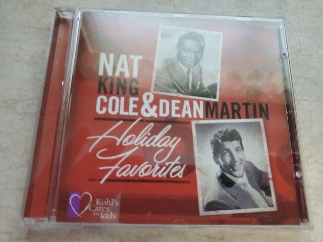 Nat King Cole & Dean Martin Holiday Favorites BRAND NEW CD Christmas Kohls Cares | eBay