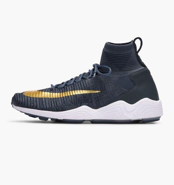 3Q Nike Zoom Mercurial XI Flyknit FC6 EU40 852616-400 bleu Fox/Metallic Gold