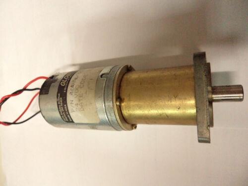 409A6022-3 Globe Motor Gear Model 24VDC