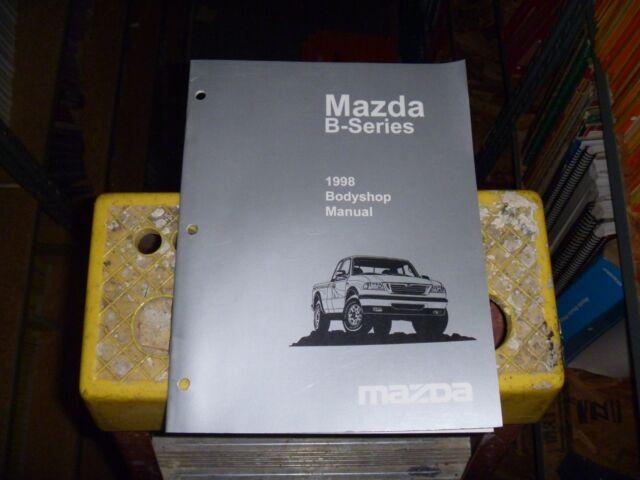 1998 Mazda B2500 B3000 B4000 Pickup Truck Body Shop