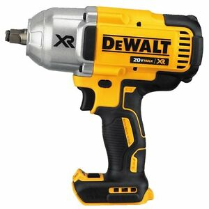 "DEWALT DCF899HB 20V MAX XR Brushless High Torque 1/2"" Impact Wrench with Hog Rin"