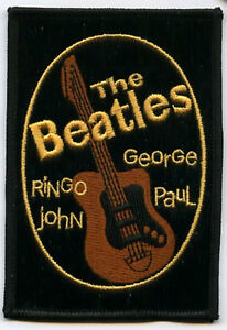 BEATLES-RINGO-JOHN-GEORGE-PAUL-BEATLES-Sgt-Pepper-039-s-Lonely-Hearts-Club-Patch
