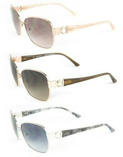 MARCIANO by GUESS Women's Metal Square Sunglasses GM681 NEW