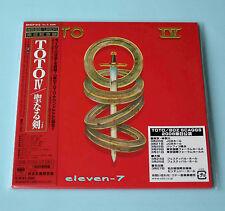 TOTO Toto IV JAPAN mini lp cd DSD Mastering brand new & still sealed