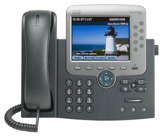 Used Cisco CP-7975G Unified IP Phone