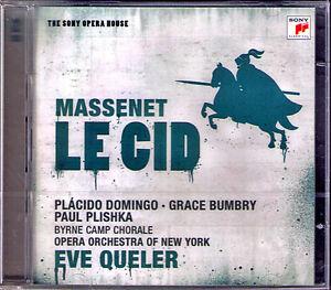 MASSENET-LE-Cid-Placido-Domingo-Grace-Bumbry-Paul-Plishka-Ingram-Eve-Queler-2cd