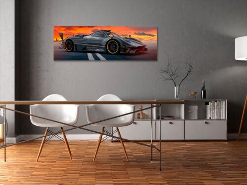 Canvas Print Sport Car Framed Wall Art Picture Image i-B-0022-b-a