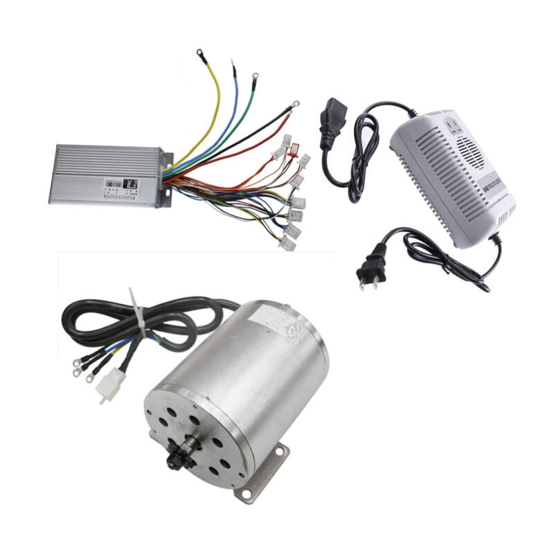 1800 W 48 V Brushless Motor +Speed Controller box +Battery Charger electric kit