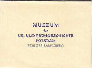 AK-Mappe-mit-7-Foto-AK-Potsdam-Museum-fuer-Ur-und-Fruehgeschichte-1970er