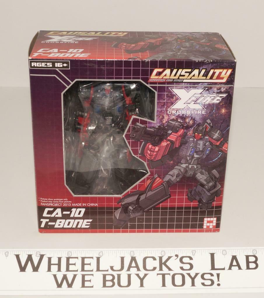 Ca-10 T-Bone Causality Crossfire Menasor NEW Fansproject Transformers
