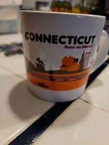 Dunkin' Donuts DD Mug Connecticut Runs On Dunkin' Coffee Mug Cup 2012