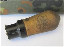 WWII ORIGINAL GERMAN WEHRMACHT RADIO TUBE TELEFUNKEN AB2 DRP
