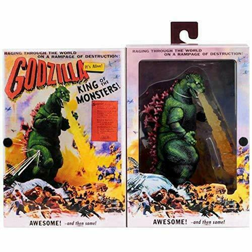 Godzilla 1956 Movie Poster 12 inch Head to Tail NECA Figure IN STOCK