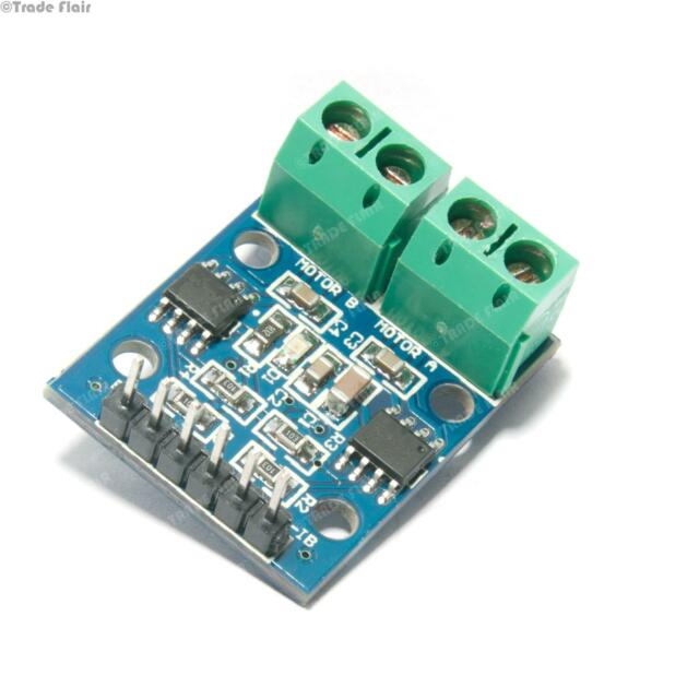 Dual Channel Motor Driver L9110S - 2.5V to 12V Operating Voltage - 2 x HG7881