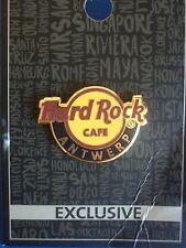 HRC Hard Rock Cafe Antwerp Antwerpen Logo New Style Holo Guitar Pick 2017