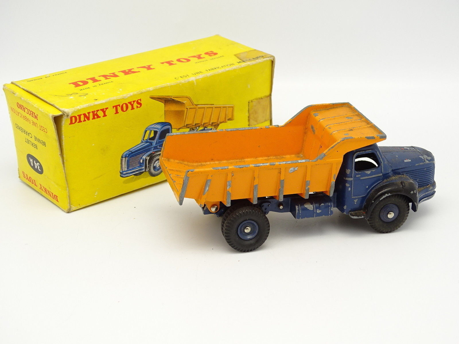 Dinky Spielzeug SB-f 1 43 - Berliet Container Container Container Karriere 34A 43446a
