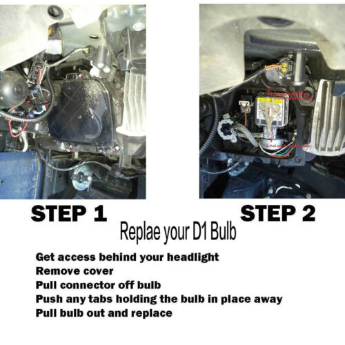 2Pcs Car Auto D1S//D1R//D1C Headlights HID Xenon Bulbs OEM Replacement FOR Abarth
