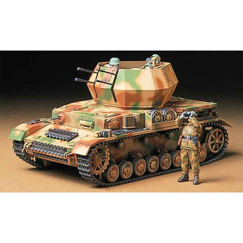 TAMIYA 35233 German Flakpanzer Wirbelwind 1 35 Military Model Kit