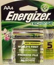 ToKaLand Energizer AA Rechargeable Universal Batteries 4-Pack 2000 mAh