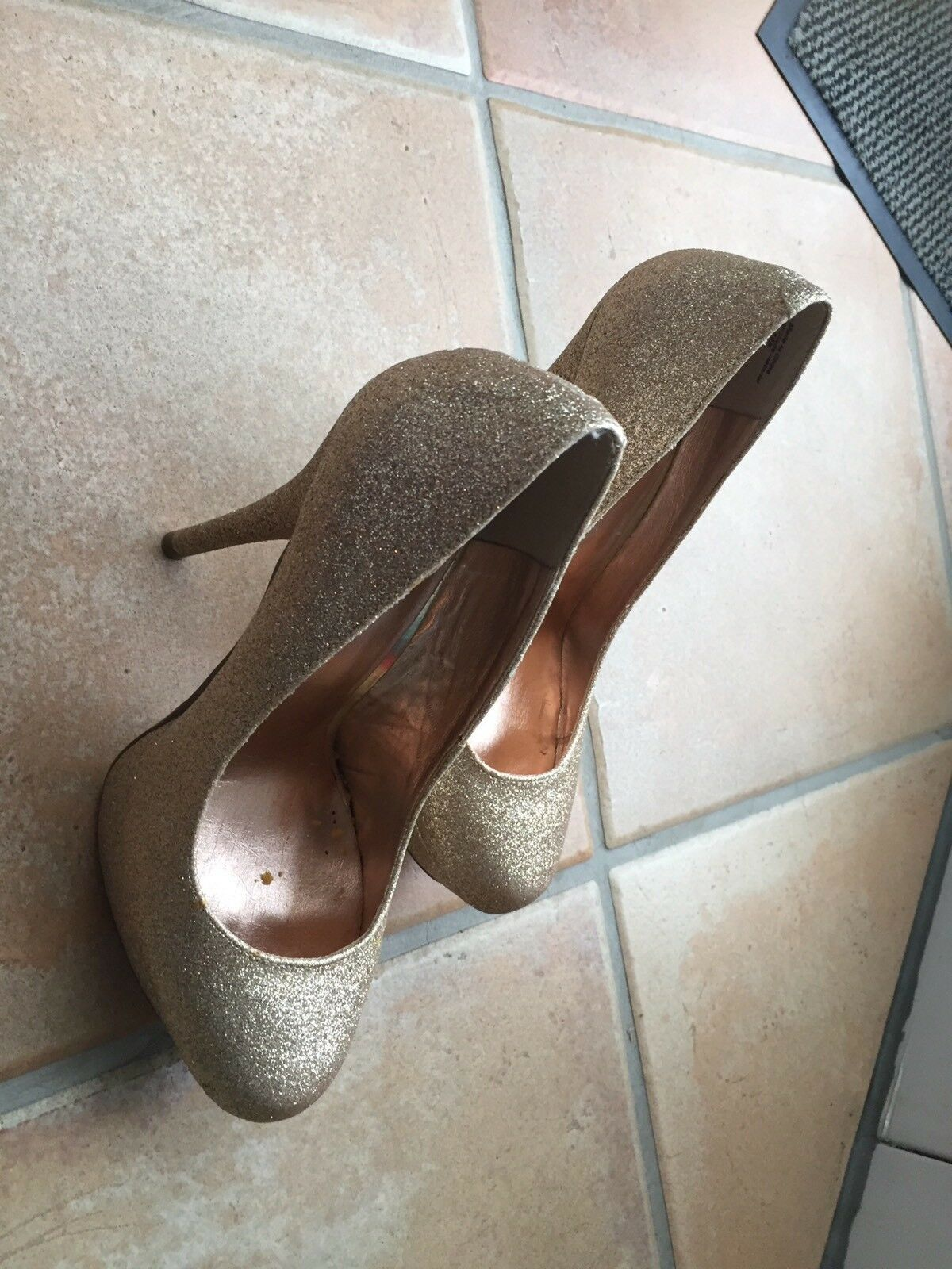 Bakers High Heels in gold  Größe 7,5
