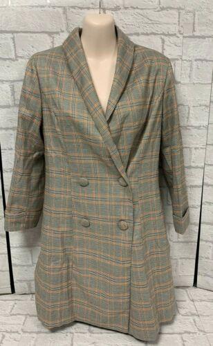 Ladies Blazer Dress Plaid Wild Honey New Look Sizes S-L BNWT RRP £37.00