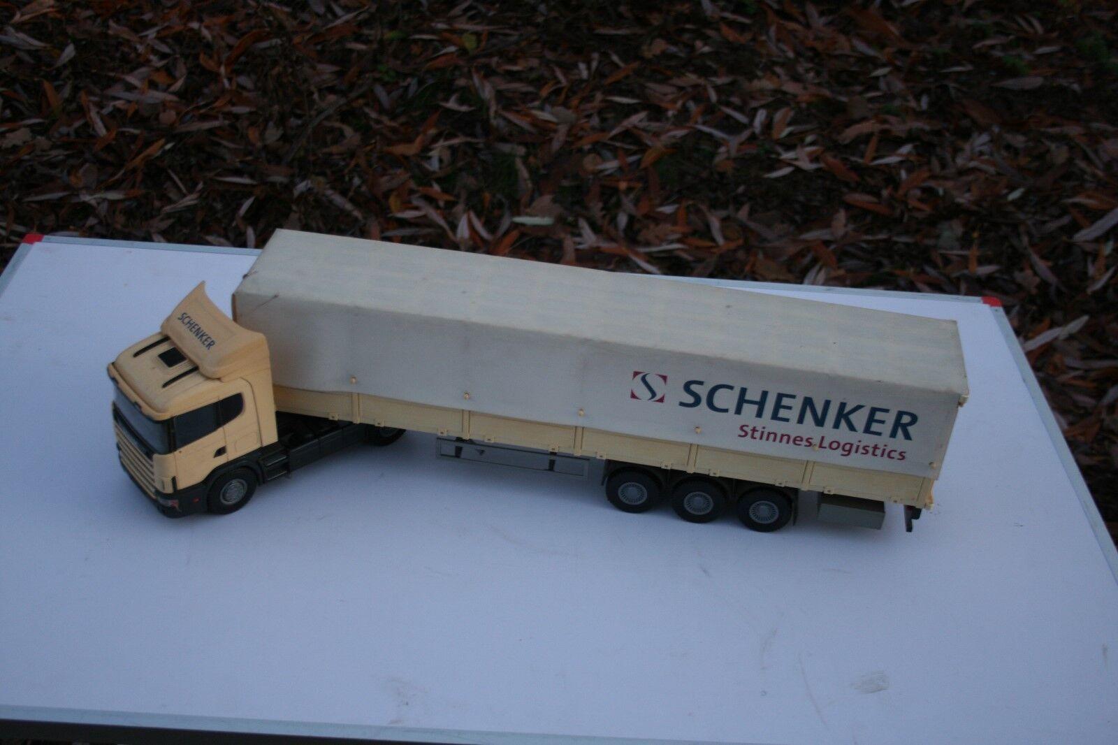 EMEK Scania Schenker Stinnes logistique semi-remorque