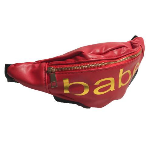Fanny Pack Men Women Waist Belt Bag Purse Hip Pouch Travel Sport Bum Leather