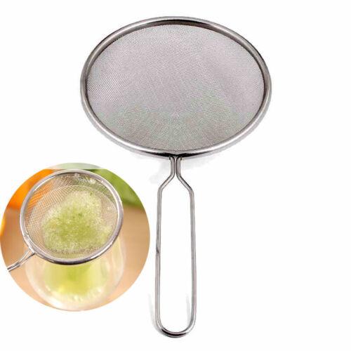 Stainless Steel Fruit Juicer Filter Screen Colander Strainer Soybean Milk Oil Re